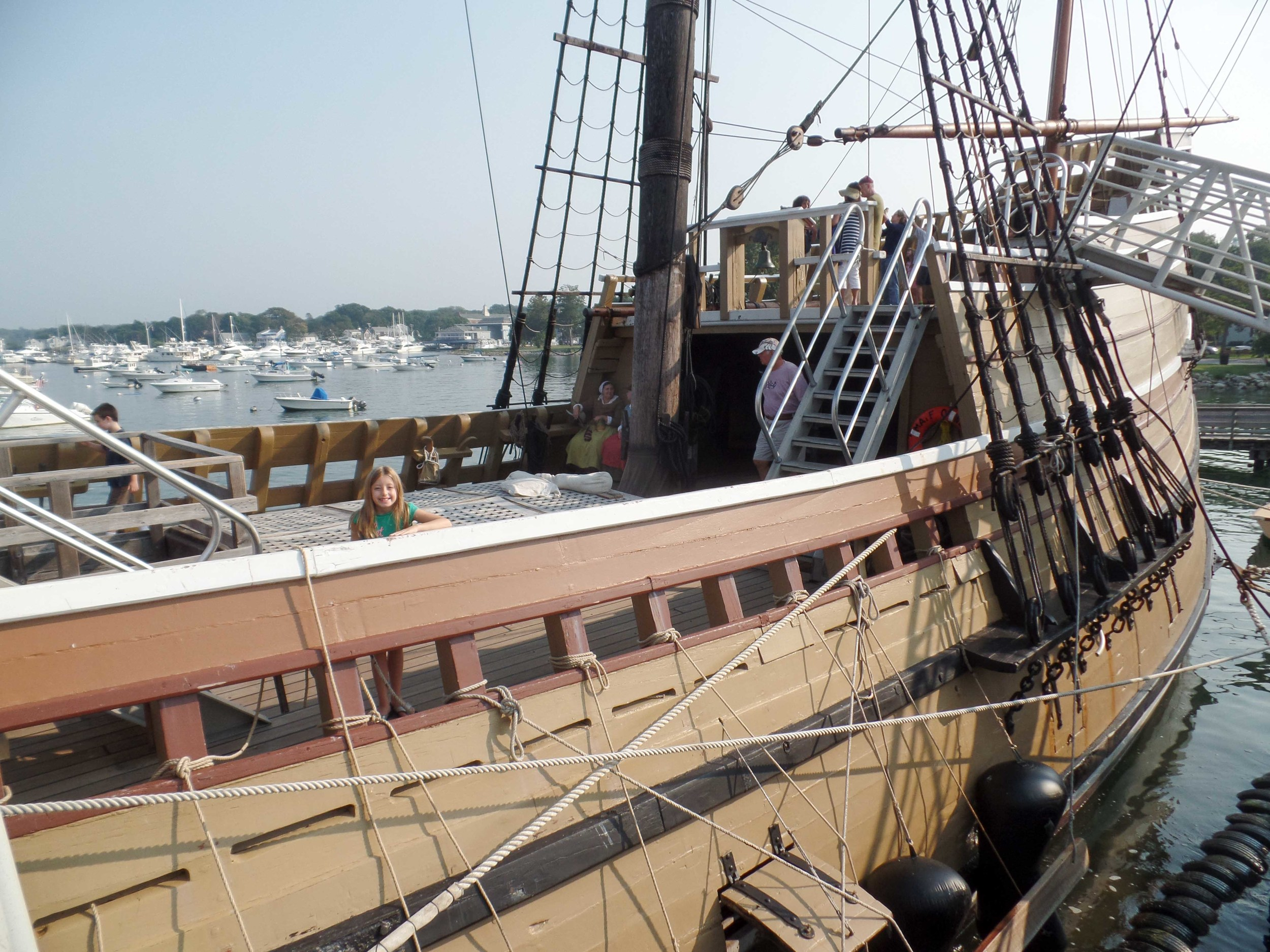 Only the crew, not the passengers, would have spent time up here. How fascinating to see such a faithful reproduction!
