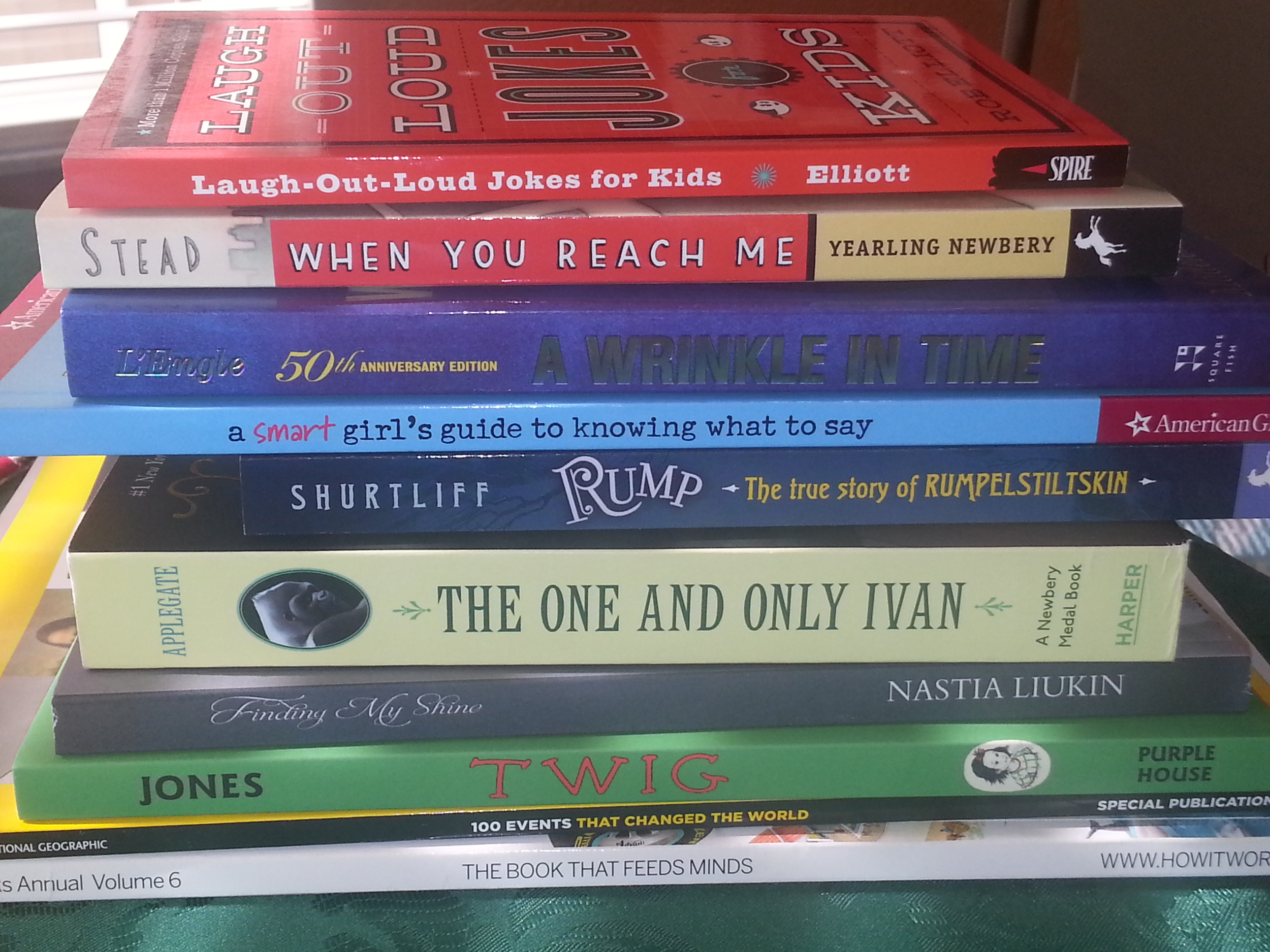Christmas presents! Books are a wonderful gift!