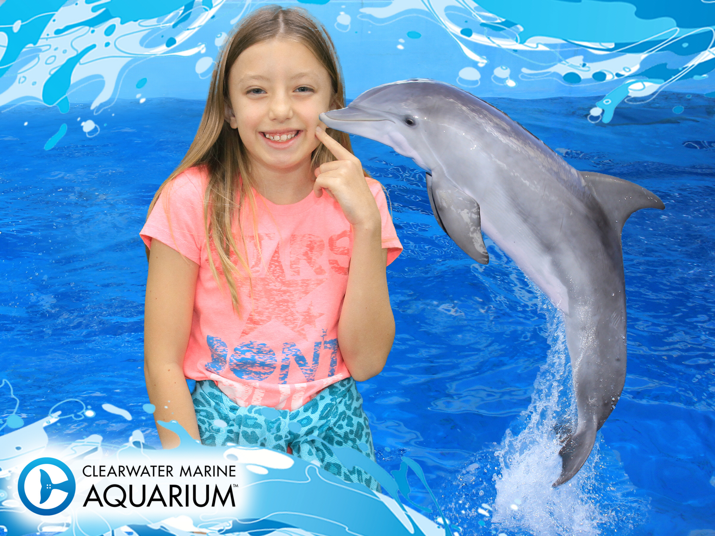 How cute is this creature?  I love the dolphin, too!
