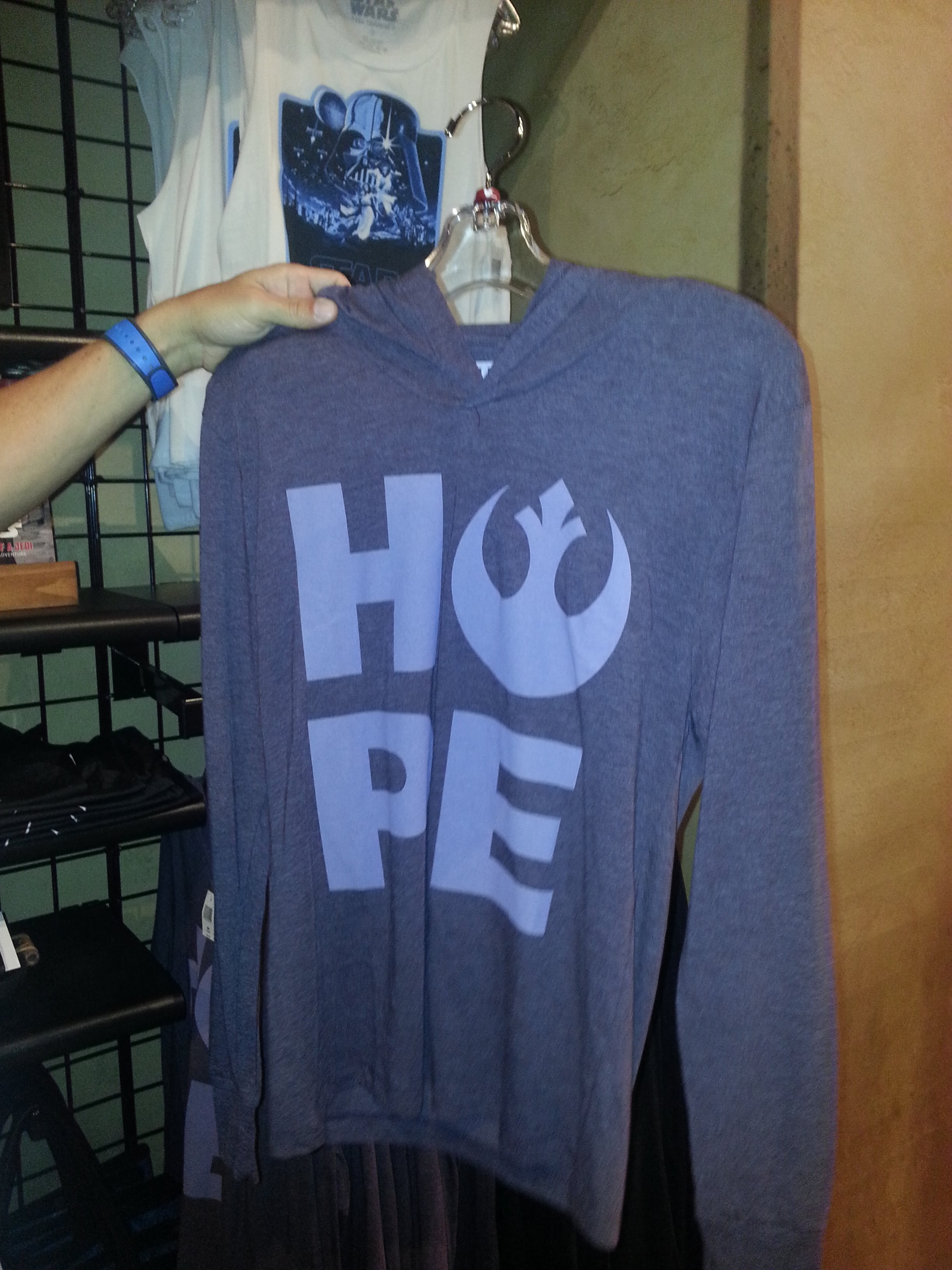 I liked this shirt because HOPE is one of my favorite words!