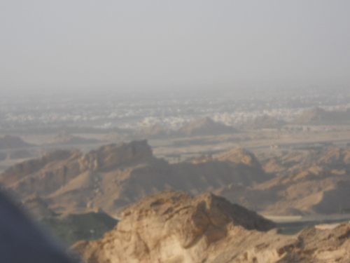 "Jebel Hafeet - ""it was amazing to hear the Azhan from the top of the mountain."""