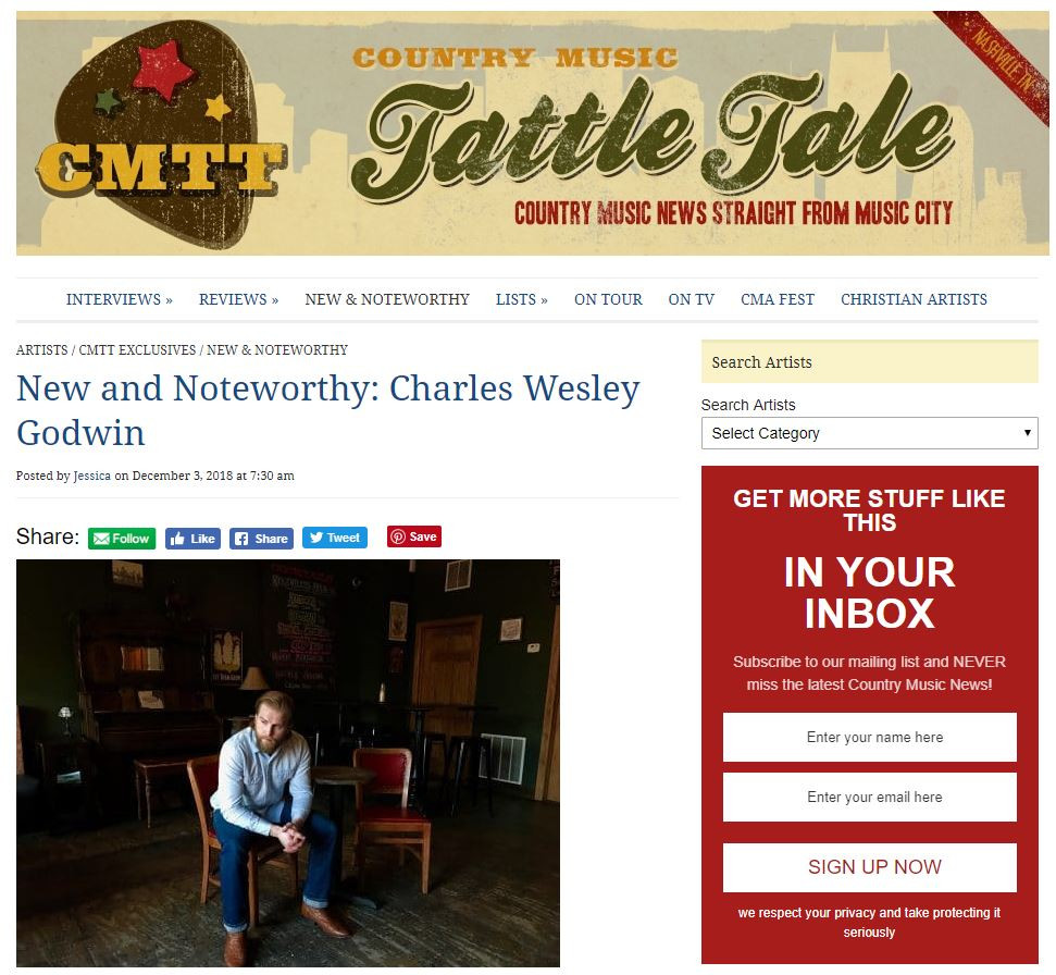 CMTT's New and Noteworthy