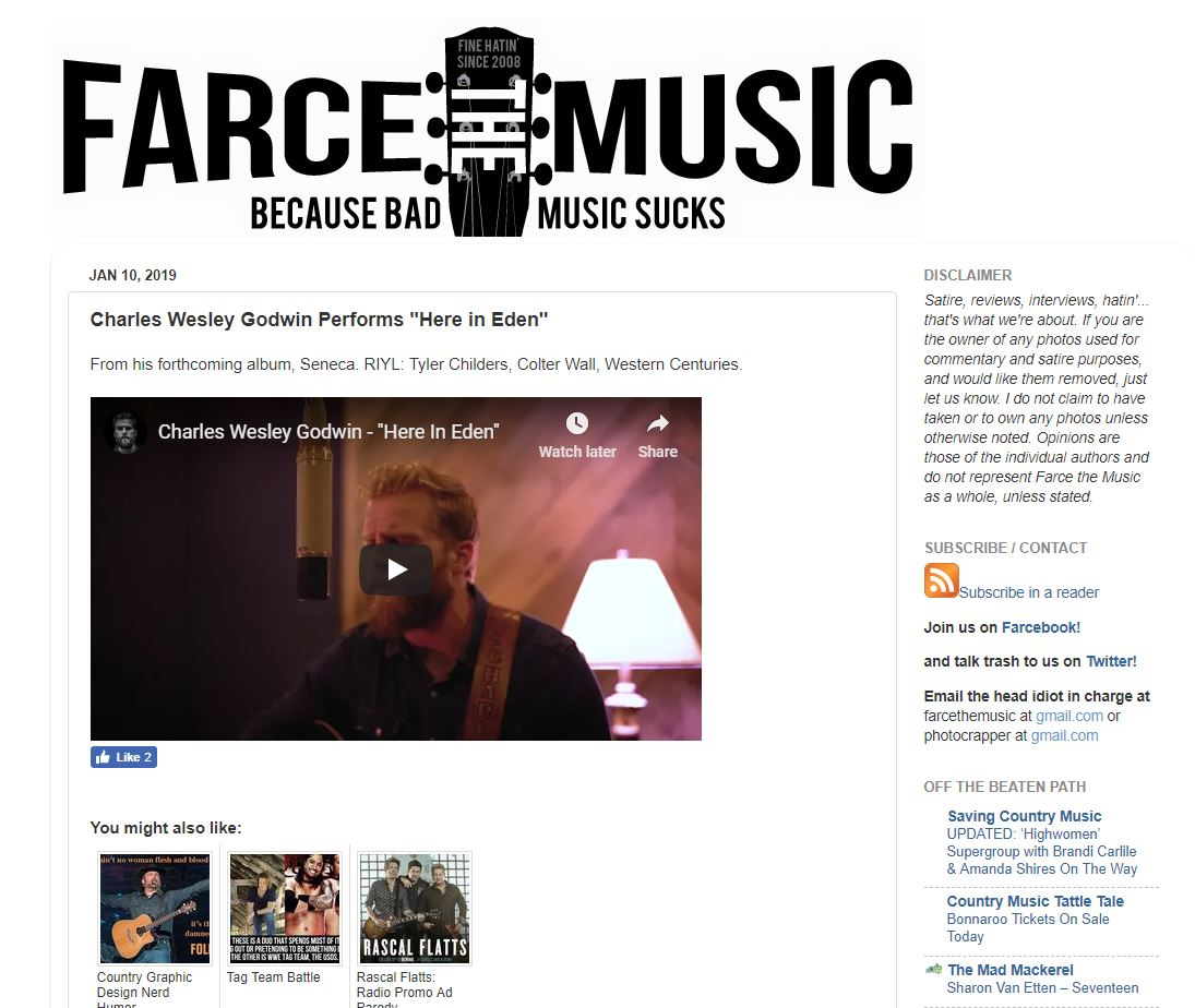 Farce The Music Feature