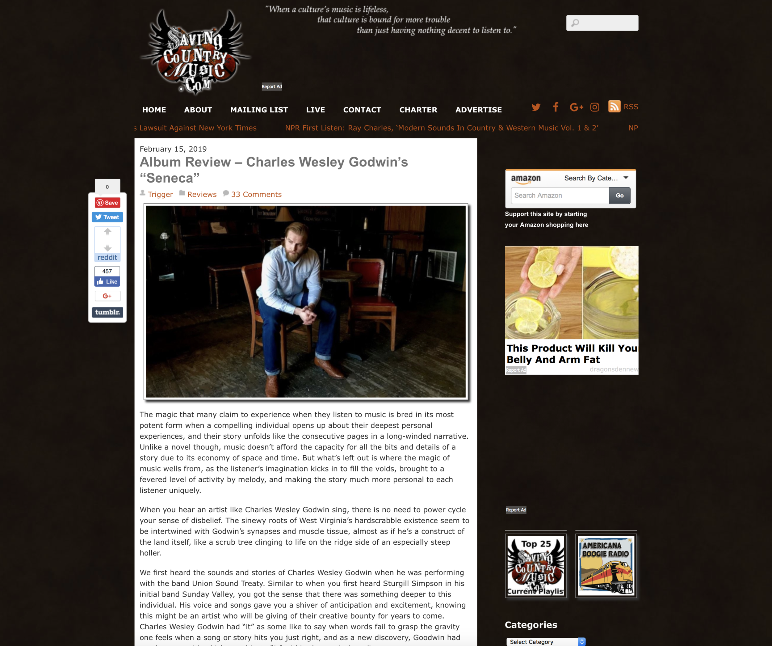 Saving Country Music Album Review