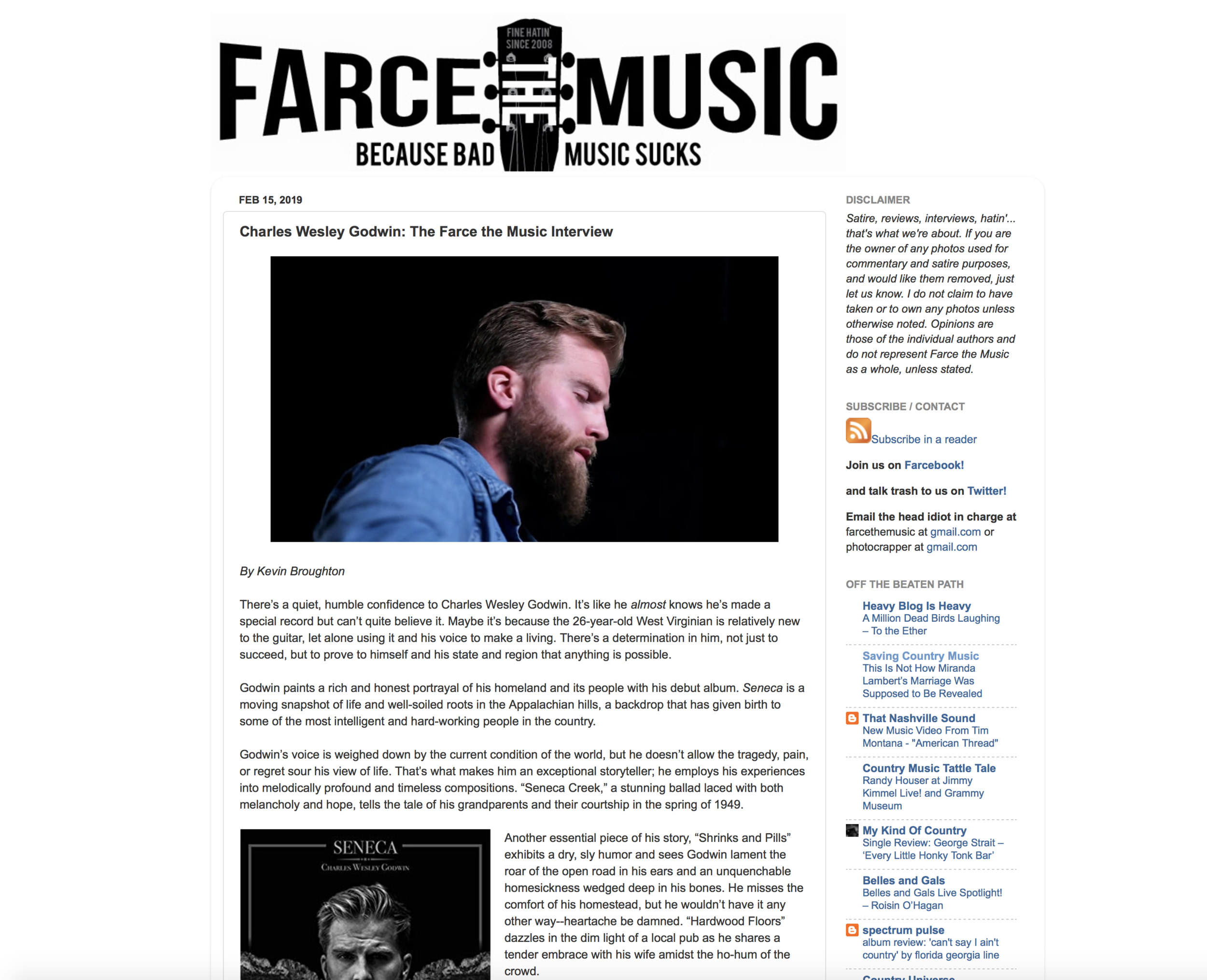 Farce The Music Album Review