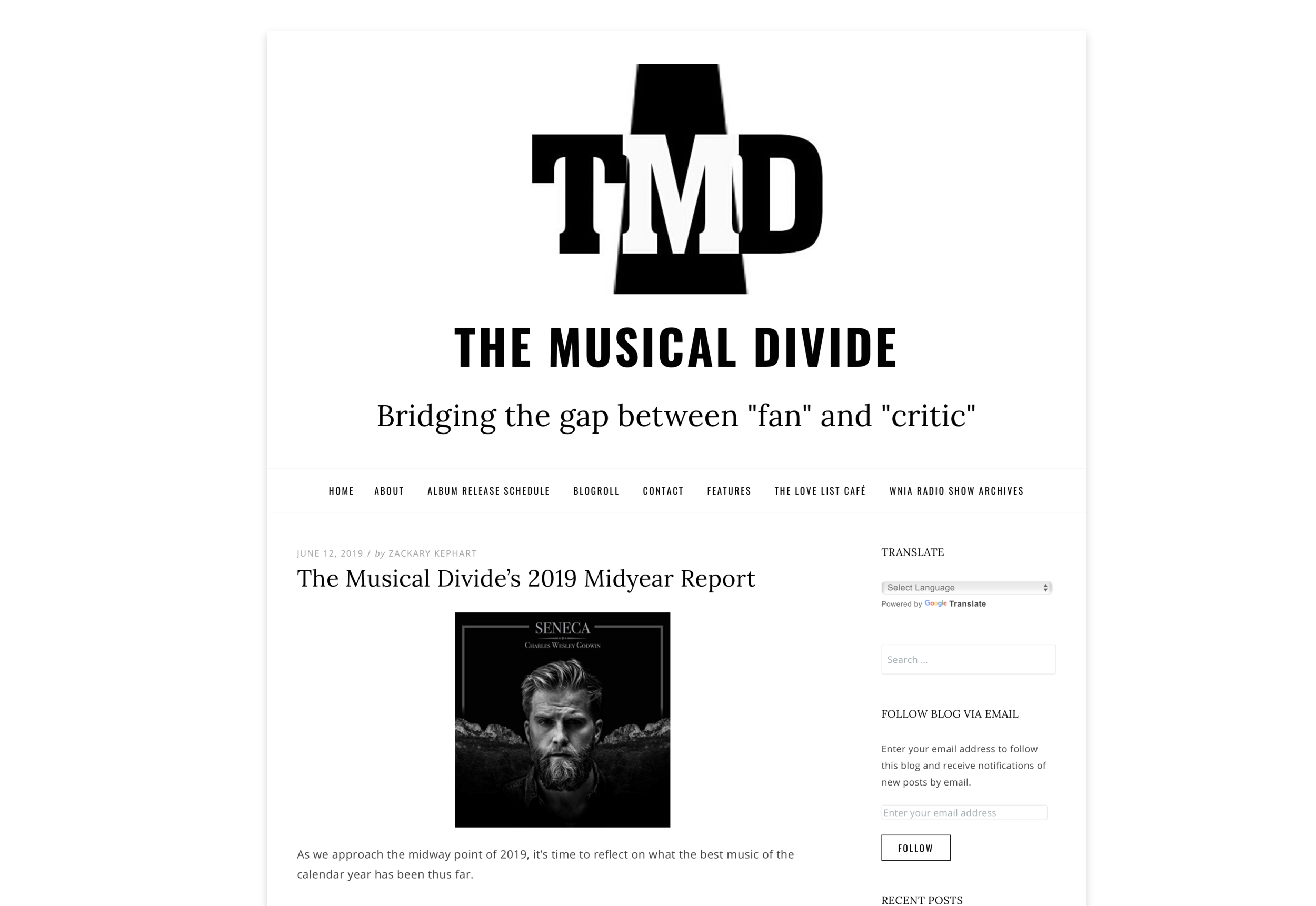 The Musical Divide Feature