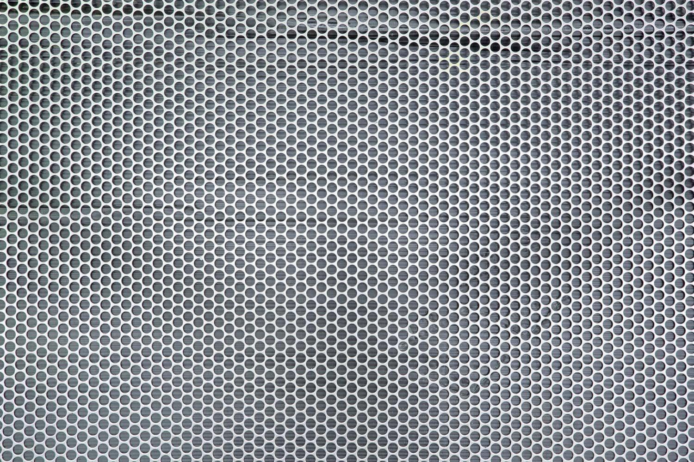Mild steel sheet with find round perforation