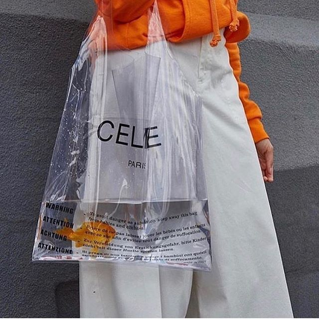 : #clearbag  the #quick to be #iconic #clear #celine #bag is #clearly the #perfect way to start off this #new #mood #rg @manimoments