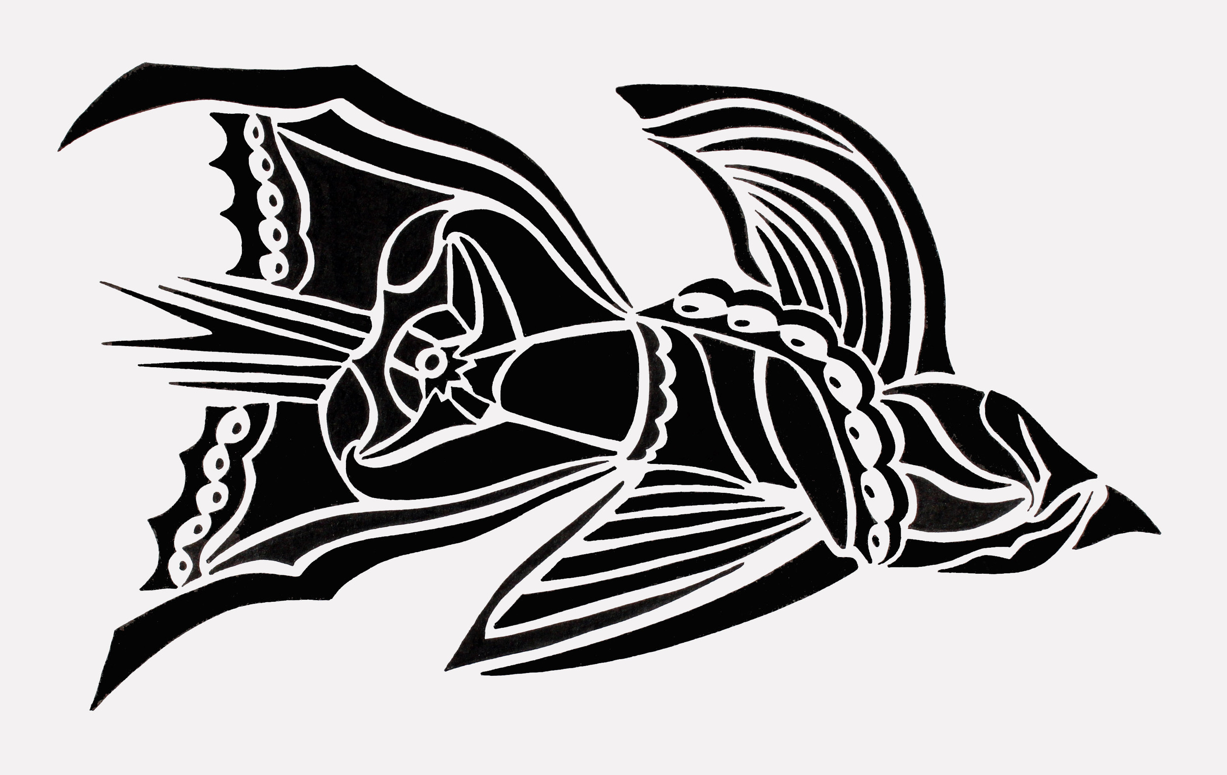 doodle #19, 11X6.5, 2015