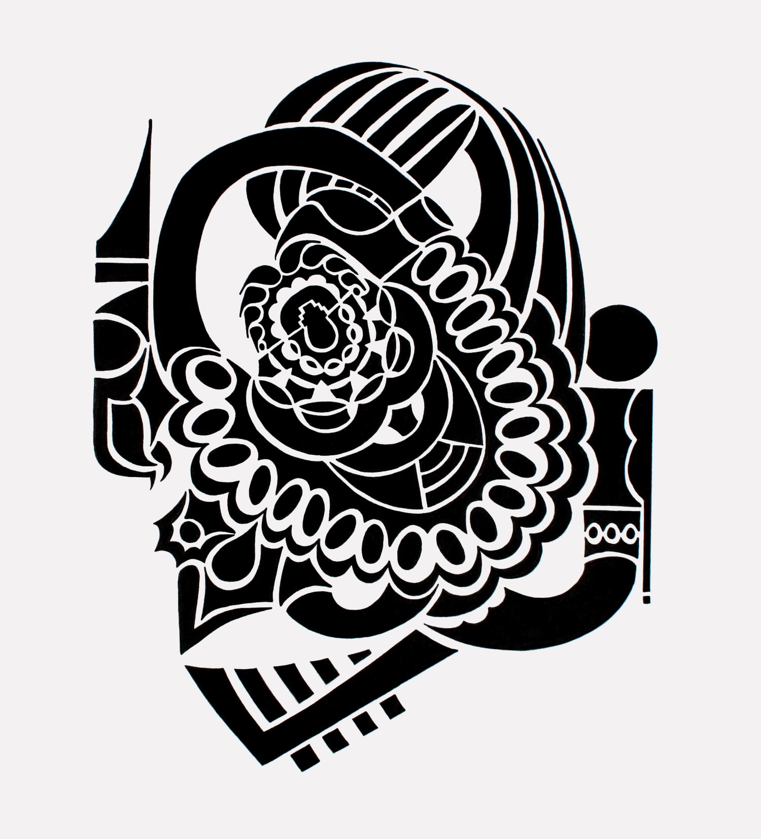 doodle #35, 10X13, 2015