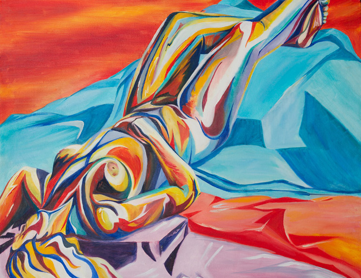 Radiance , oil on canvas, 2004