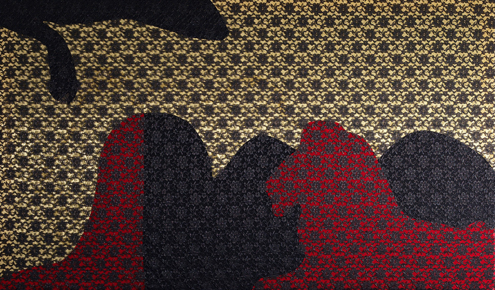 Prey . silk, satin, lace. 2007