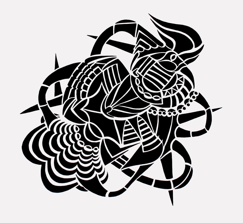 doodle #30, 11X10.5, 2015