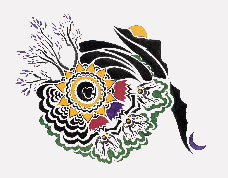 doodle #41, 13X10.5, 2015