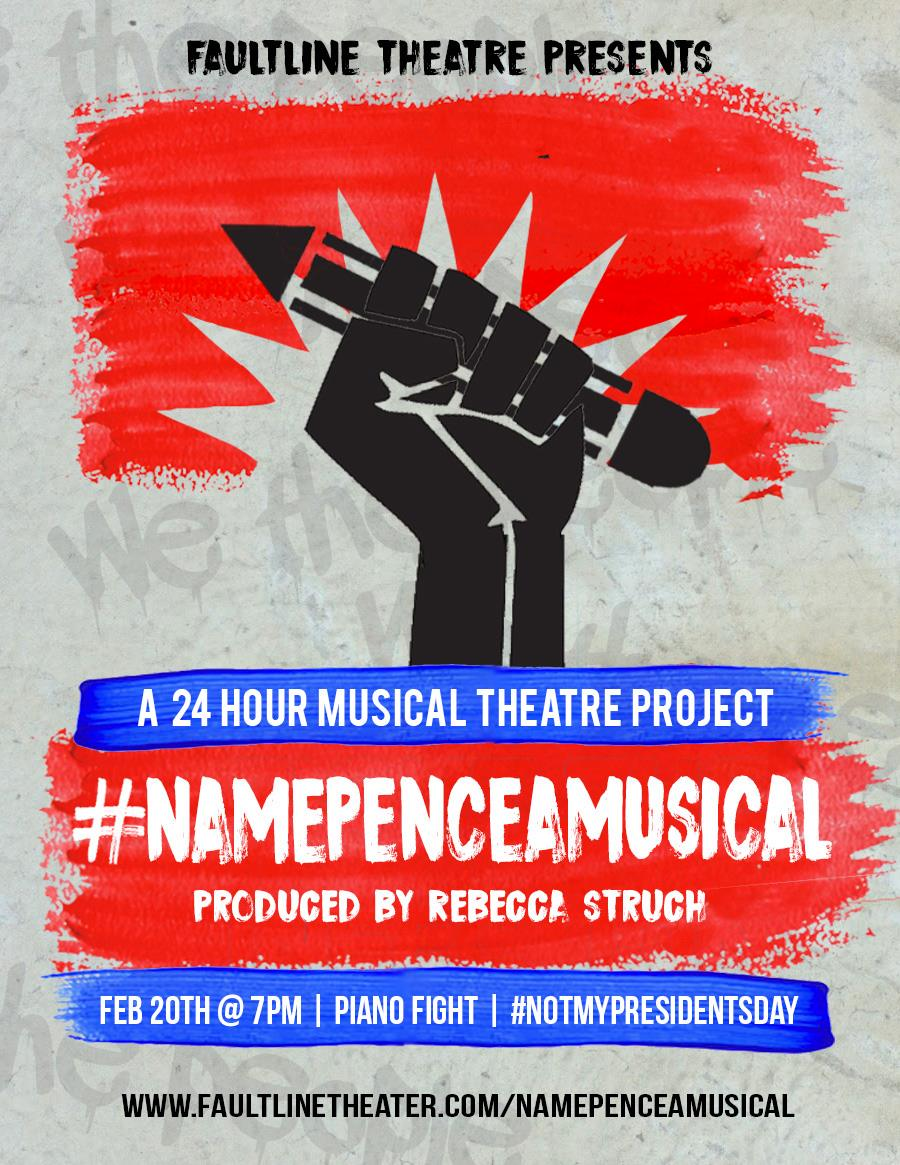 #NamePenceAMusical