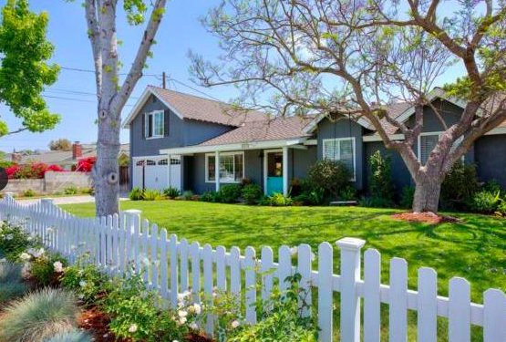 The Cape Cod Style home in Newport Beach, Ca?
