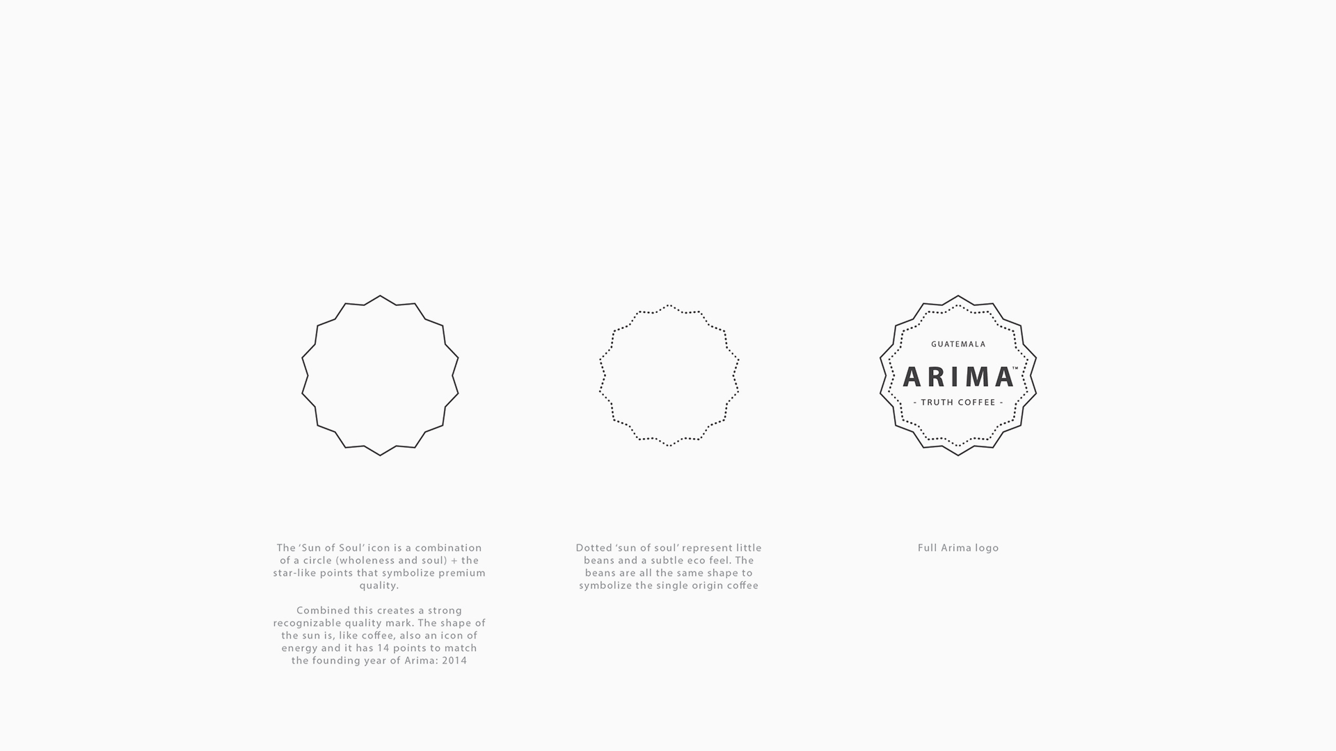 Outline  / An iconic symbol and seal of quality for the socially engaged brand.