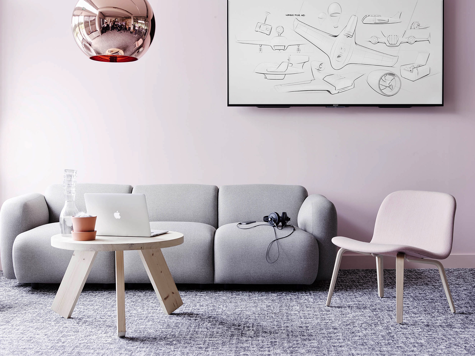 Lounge  / A stylish yet informal lounge to trigger intuitive co-creation.