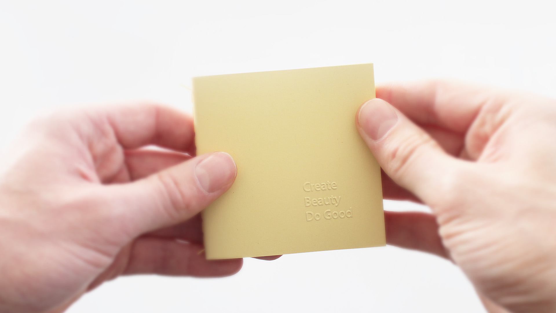 Size   / The same size of a classic yellow sticky note.
