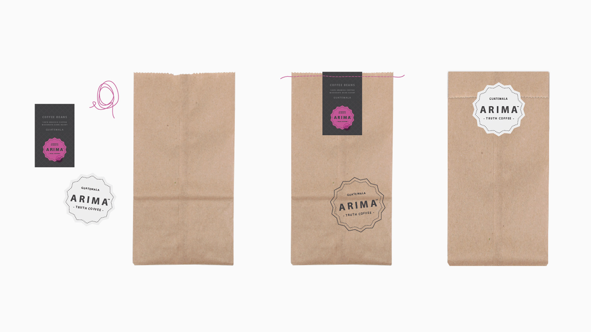Fresh Beans  /   Packaging design for the fresh beans bag (pre-packed and to-go).
