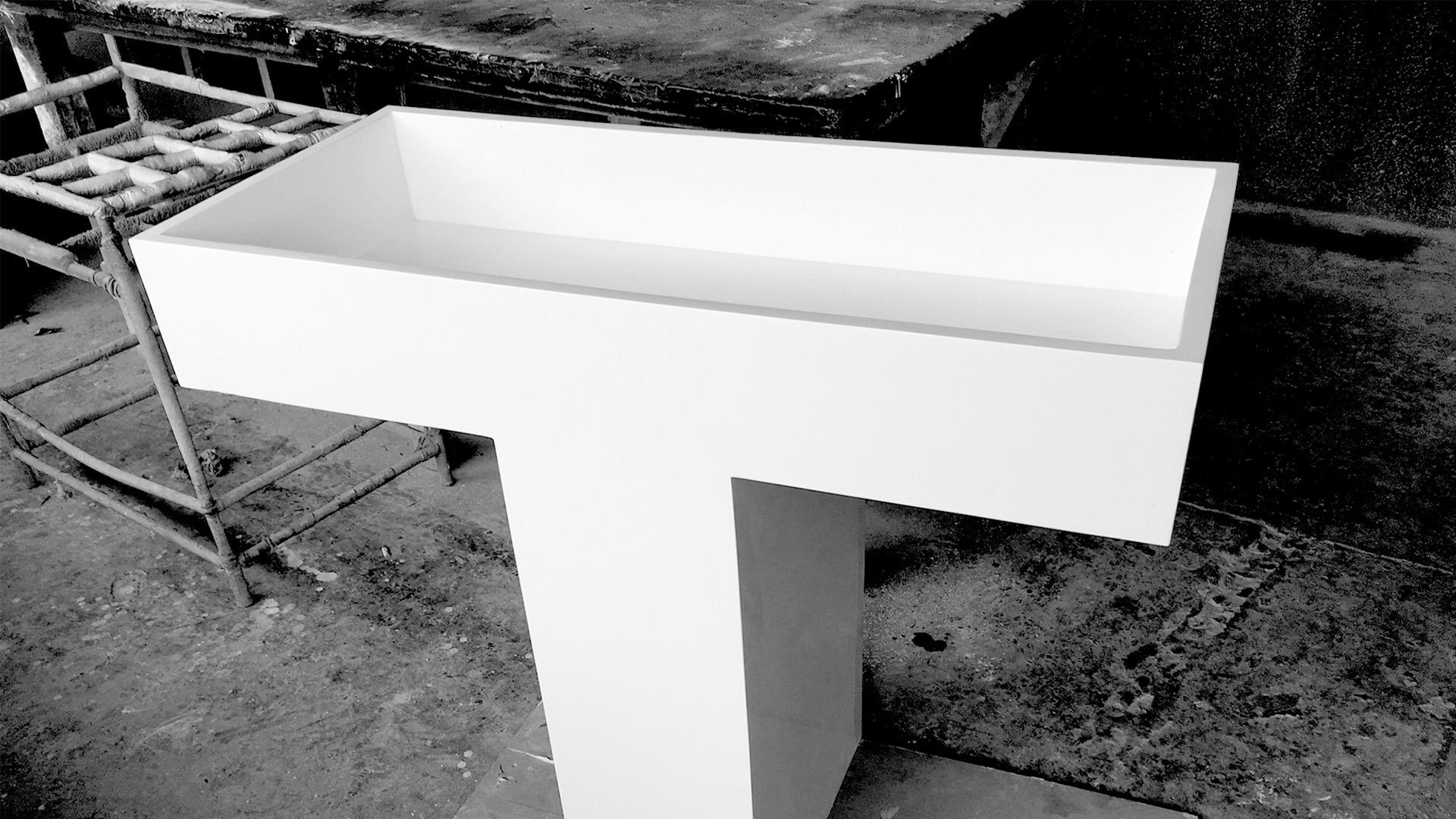 Prototype  / Prototype of the Pila designed for Good Hotel.