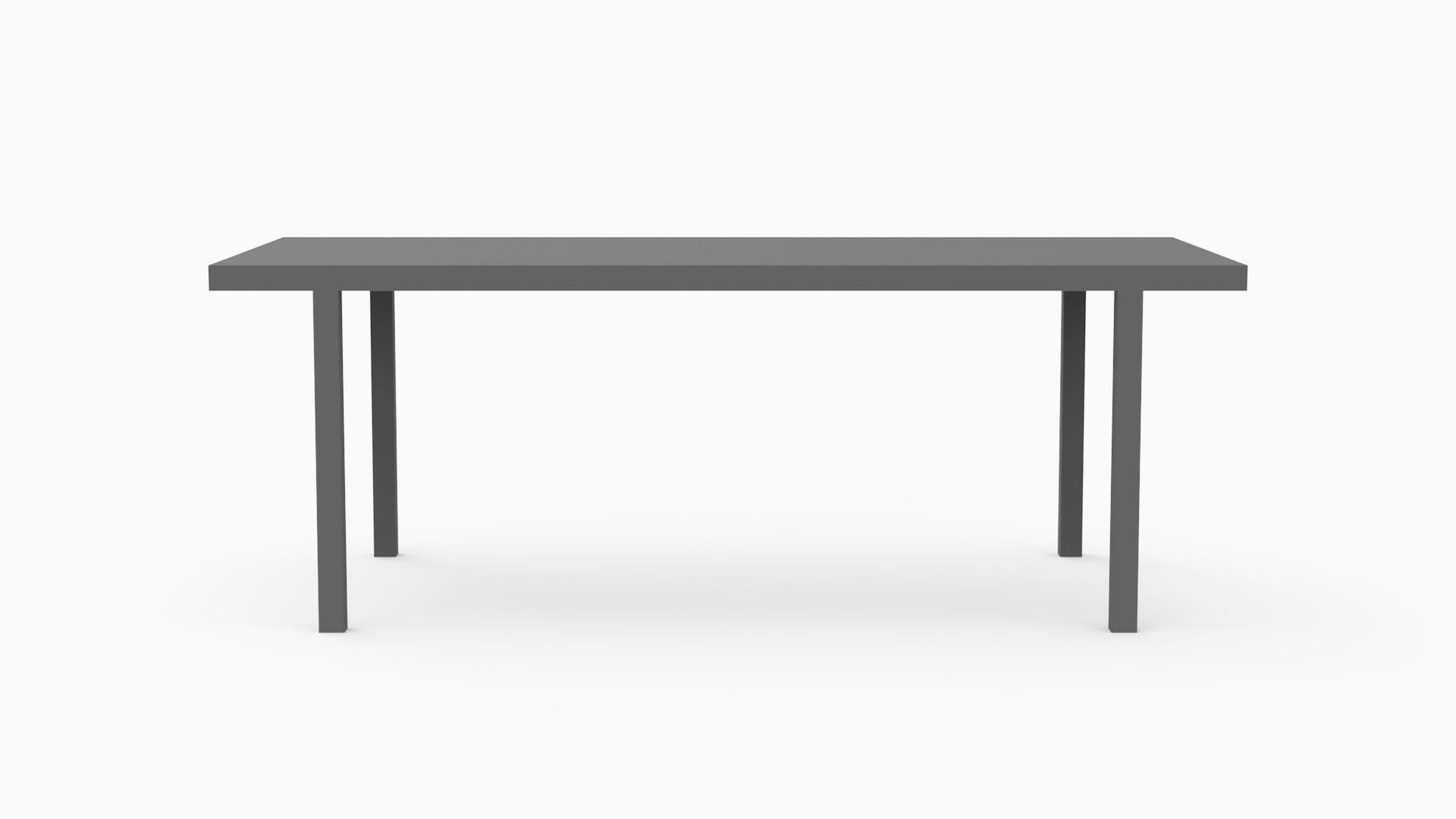 KOKER  / 'Basic Black' (200x90x75 cm)