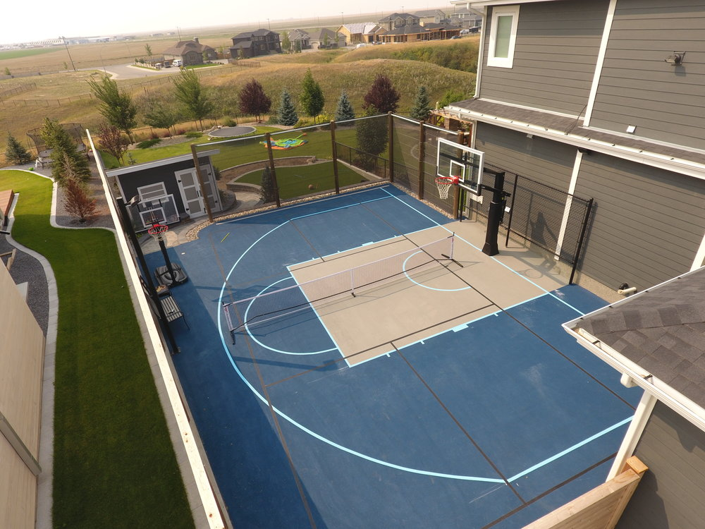 Painting Court Lines On Asphalt Jb, Best Paint For Outdoor Basketball Court Lines
