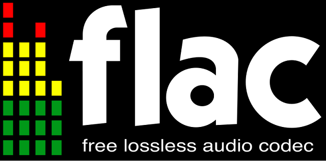Logo of the Free Lossless Audio Codec. C.C. Image: Wikipedia Commons.