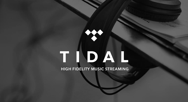 The Tidal logo, used on the grounds of fair use.