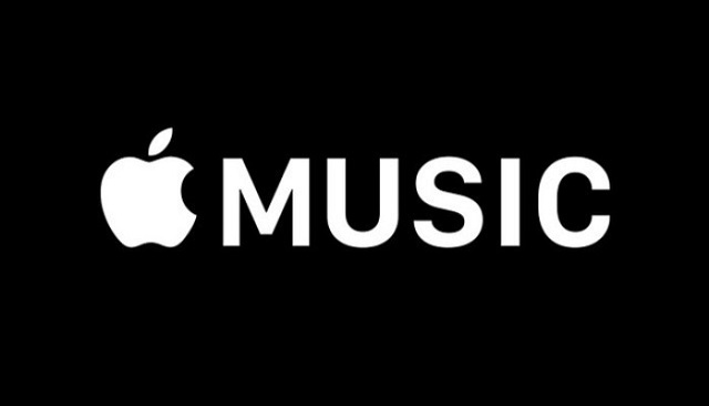 The Apple Music logo, used on the grounds of fair use.