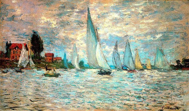 Public domain image: Claude Monet.