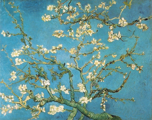 Public domain image: Autumn Blossoms by Vincent van Gogh.