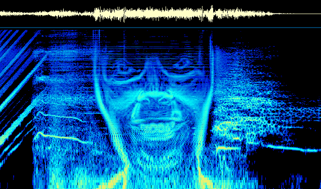 "The ""Equation"" spectrogram. Image used on the grounds of fair use."