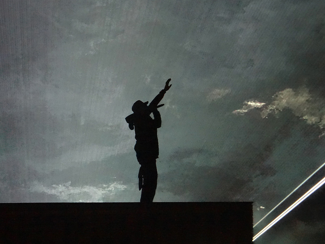 Jay Z in concert. C.C. Image: Daniele Dalledonne on Flickr.