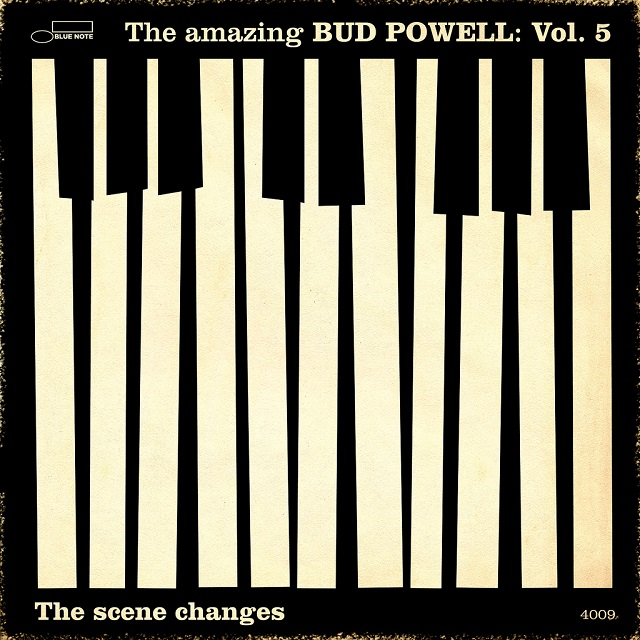 Bud Powell's  The Amazing Bud Powell, Vol. 5: The Scene Changes  (1959) cover, used on the grounds of fair use.