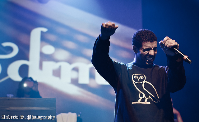 Drake. C.C. Image: The Come Up Show on Flickr.