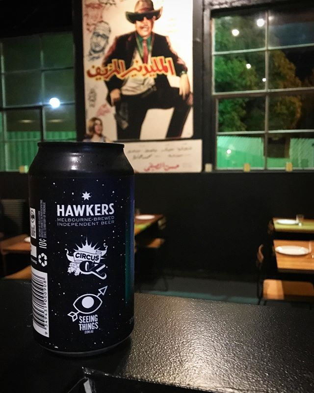 """Beer special this weekend - limited edition Hawkers """"Circus Oz"""" Pale Ale. Wholeheartedly endorsed by the Fake Millionaire. #hawkersbeer"""