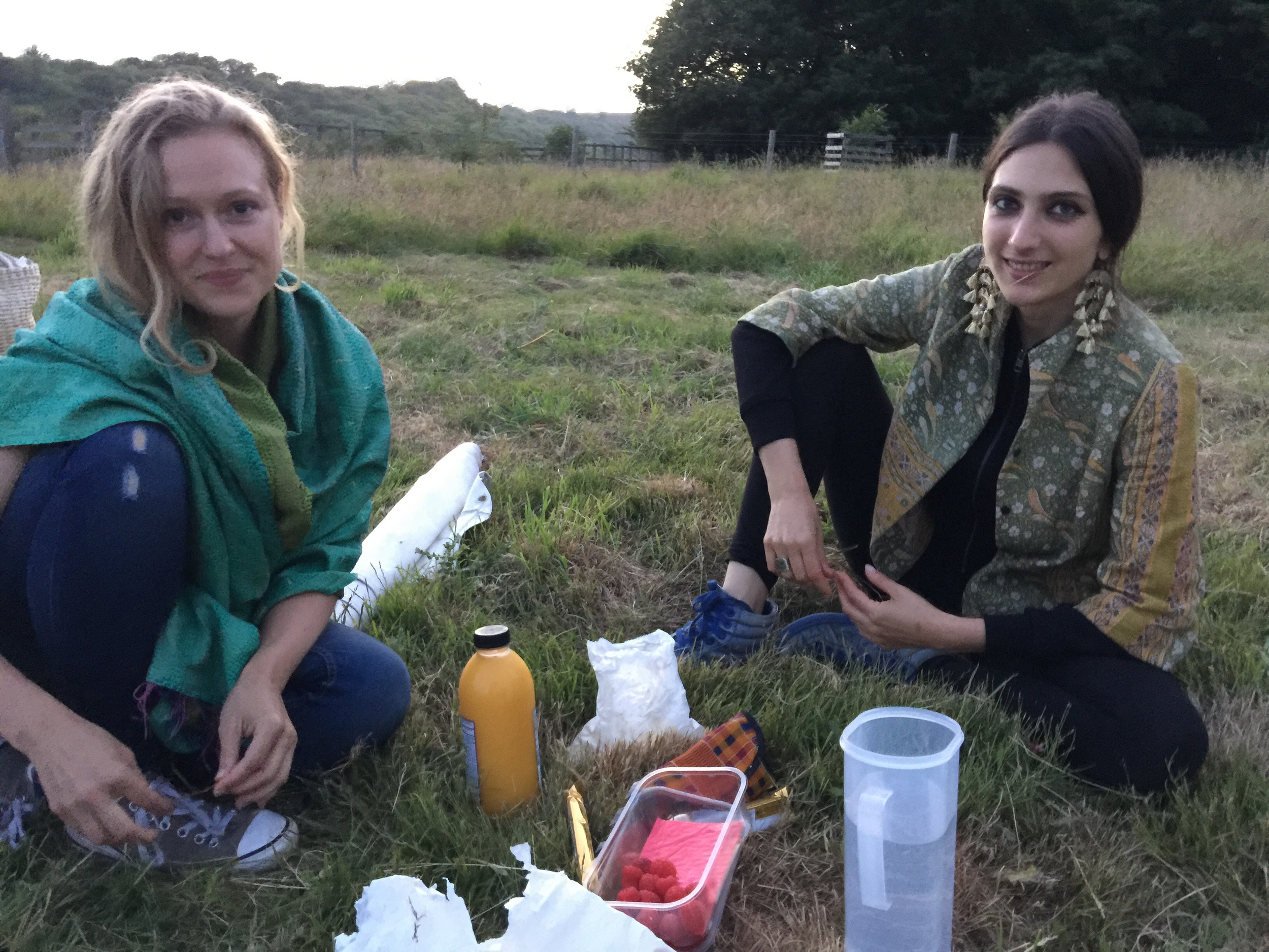 Natropathy food team Dione and Natalie  green-camp.uk/naturopathy