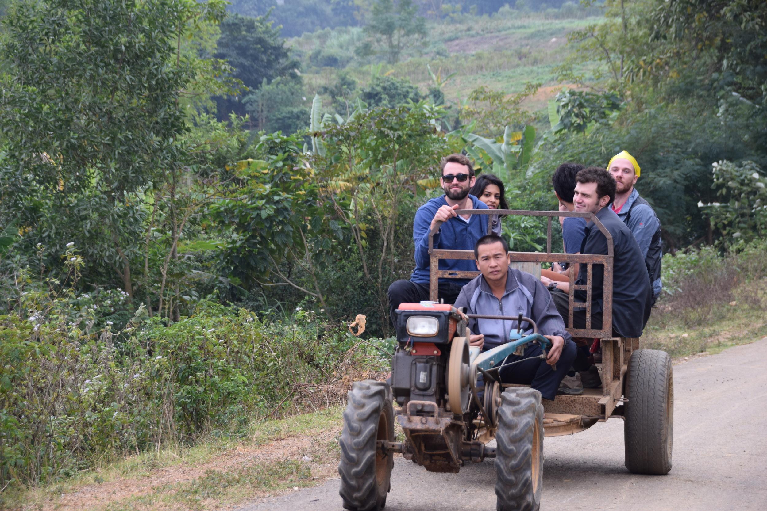 A group of Remotes Exploring Hanoi, Vietnam