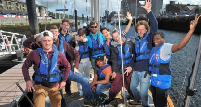 Sail training unites Irish and migrant youths (Irish Times, September 2015)