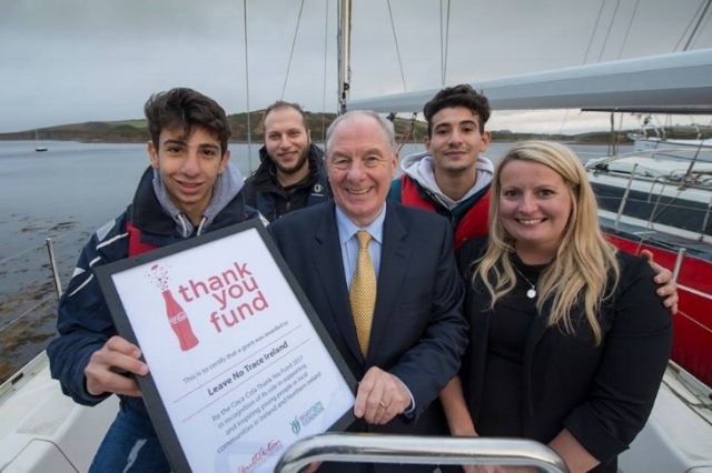 The Connaught Telegraph: Coca-Cola Thank you fund awards  €10 , 000 to  Community projects (November 2017)