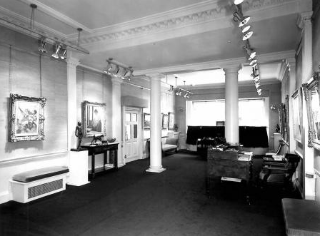 Lefevre Gallery in the 1960s, at 30 Bruton Street