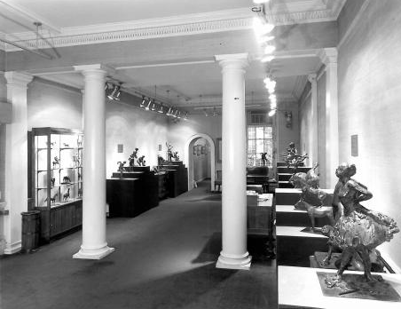 Lefevre Gallery in the 1960s at 30 Bruton Street