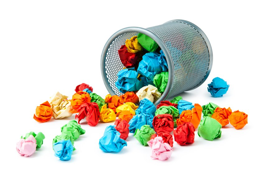 There are lots of ideas that are ready for the garbage can. I nominate two for the cause.