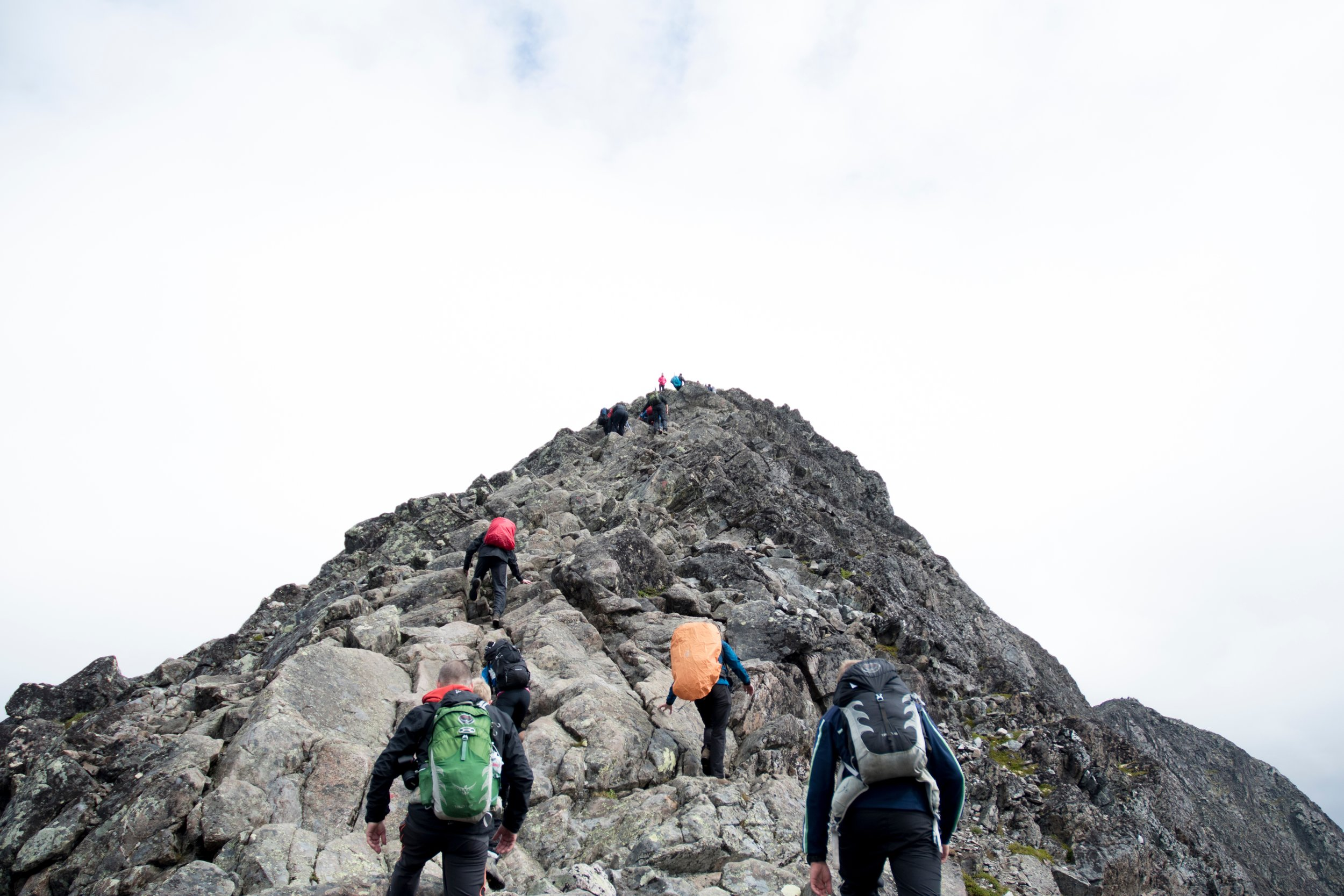 Would you climb a mountain with people you didn't like or trust?