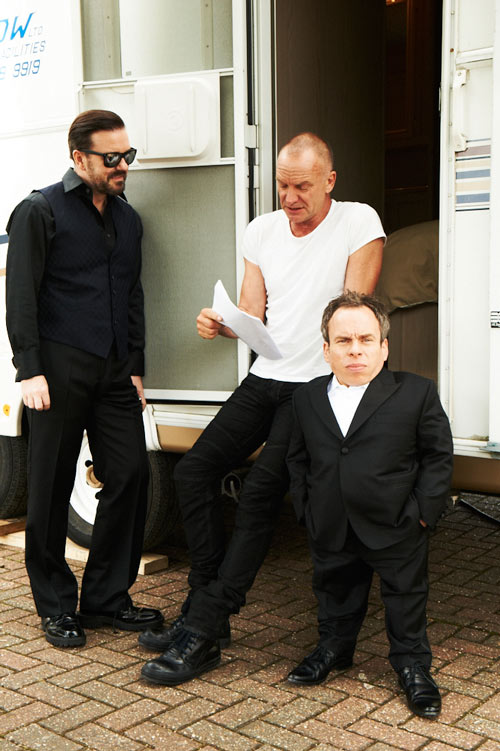 Ricky Gervais, Sting & Warwick Davis - Life's Too Short
