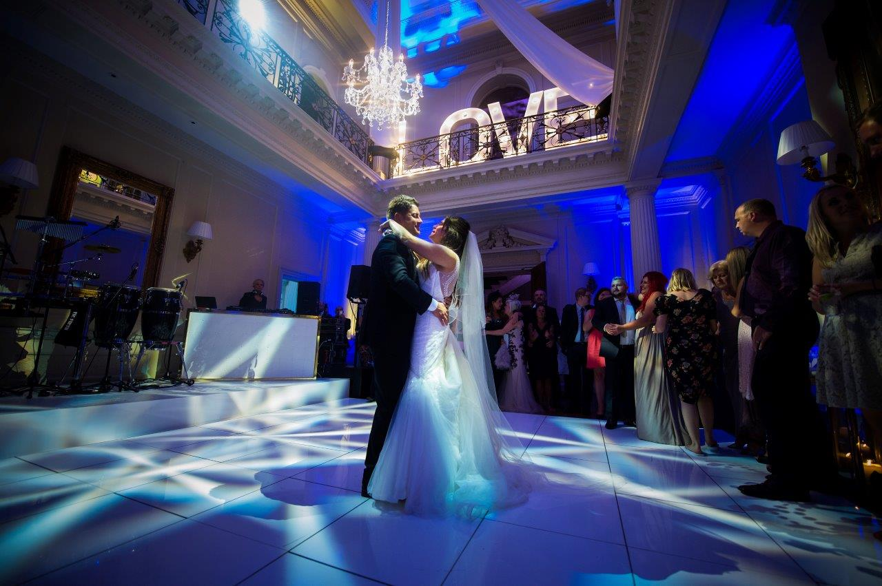 Magnificent Centre Hall is the focal point for this wedding venue