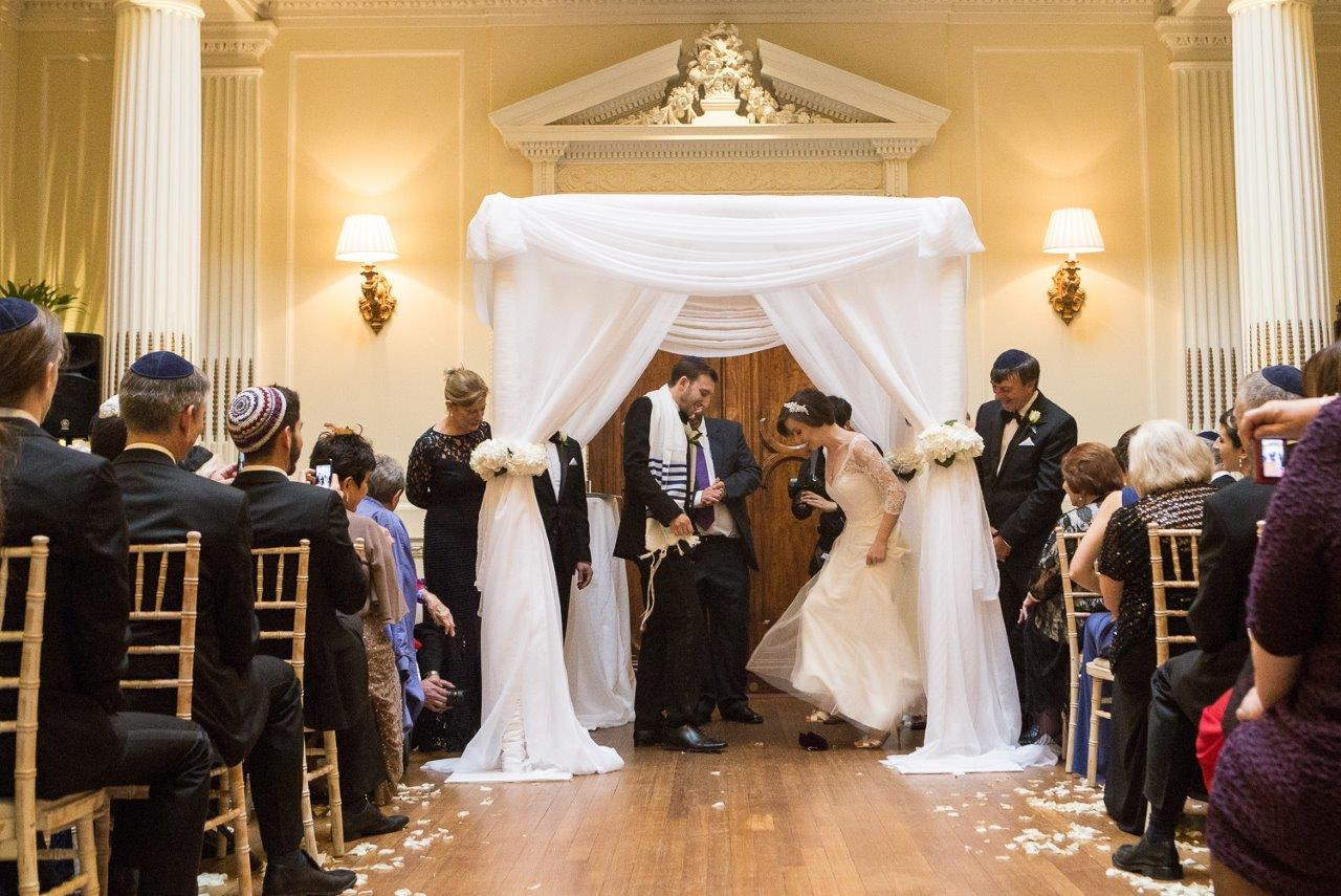 Our Centre Hall suits all types of ceremony, like this Jewish wedding last summer