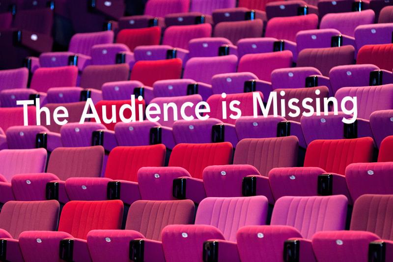 empty audience seats, stadium, audience is missing