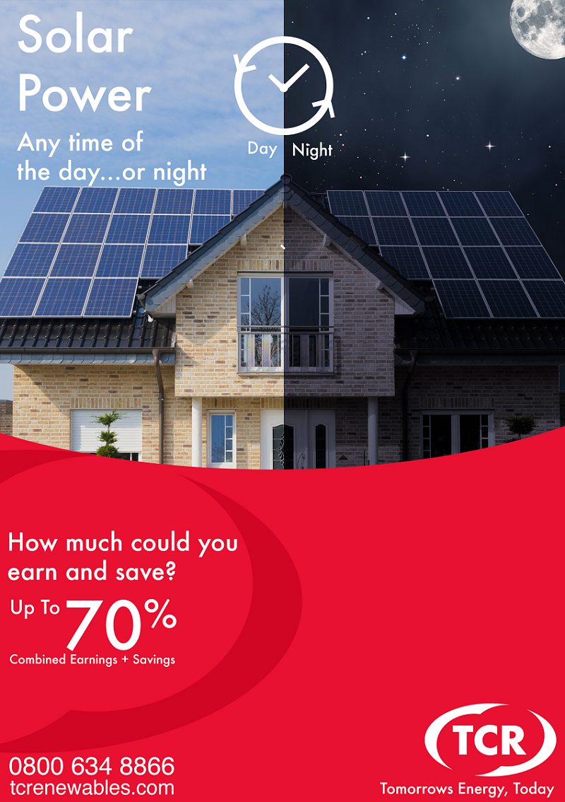 Solar Day or Night with Battery